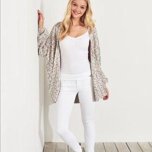 Classic Stretch Super Skinny Hollister Jeans—White